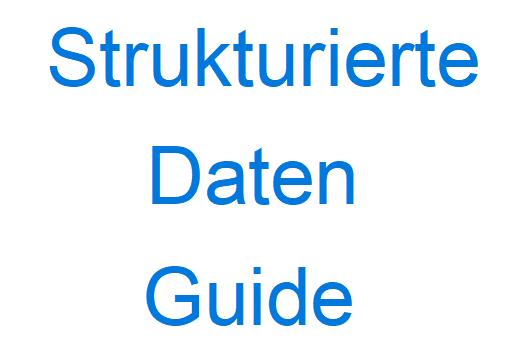 Strukturierte Daten Guide
