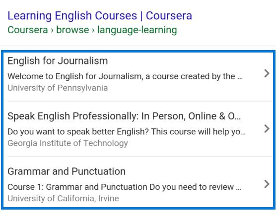 Strukturierte Daten Kurs Course